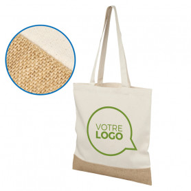Sac shopping en jute Everglen