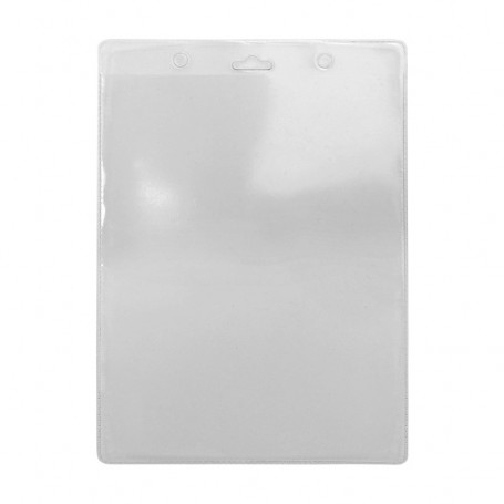 Porte-badge transparent 114x163 mm