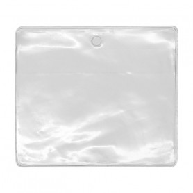 Porte-badge transparent 92x91 mm
