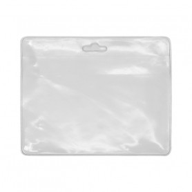 Porte-badge transparent 96x77 mm