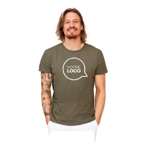 Tee-shirt coton bio Milo couleur