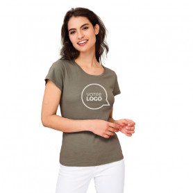 Tee-shirt coton bio Milo Women couleur