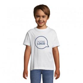 Tee-shirt enfant Regent blanc