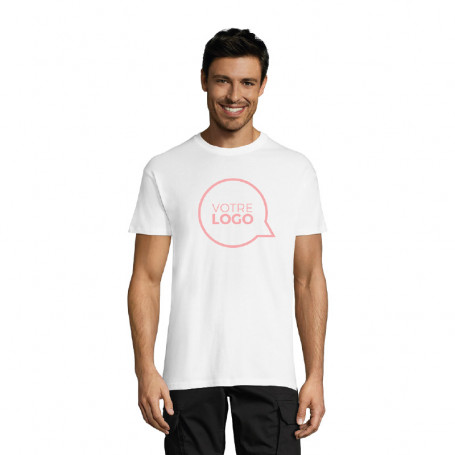 Tee-shirt homme Regent blanc