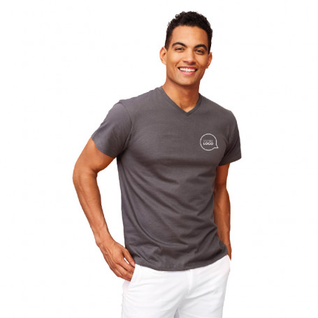 Tee shirt col V Victory couleur