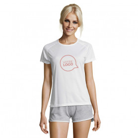 Tee shirt respirant Sporty Women blanc