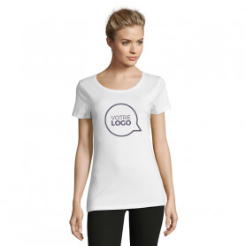 Tee-shirt ajusté Martin Women blanc