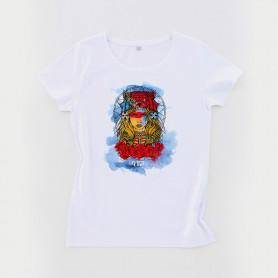 Tee-shirt coton bio Busto Women blanc