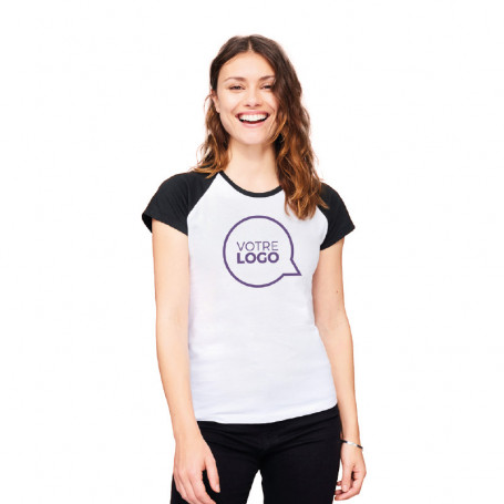 Tee-shirt manches courtes femme Milky