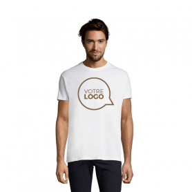 Tee shirt Imperial blanc grandes tailles