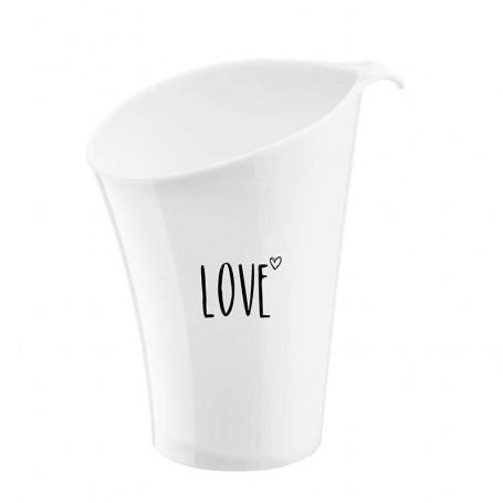Votre cadeau : le seau à glace Love