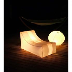 Votre cadeau : le transat gonflable lumineux