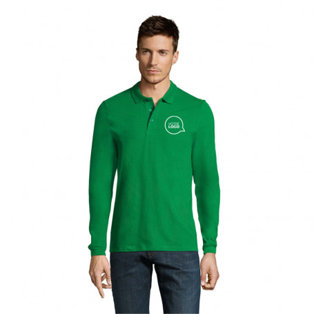 Polo manches longues homme Winter II couleur