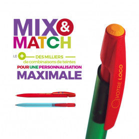 Stylo Bic Media Clic Mix&Match
