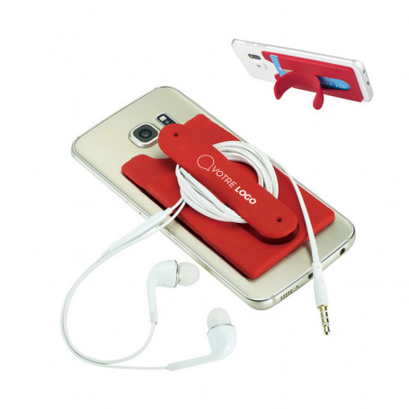 Porte-cartes support téléphone Sussex