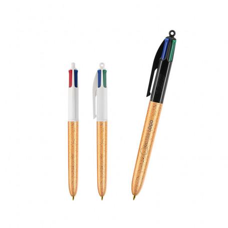 Stylo Bic 4 Colours Granité
