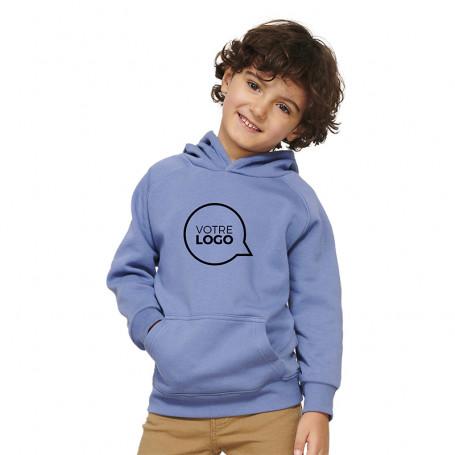 Sweat-shirt à capuche coton bio Stellar enfant
