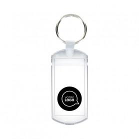 Porte-clés avec étiquette Montreuil