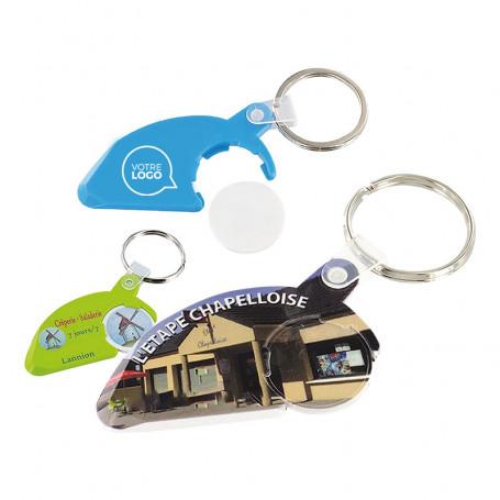 Porte-clés jeton gratte-jeu Deauville