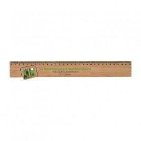 Règle sur mesure en bambou Brossac 30 cm