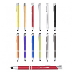 Stylo avec stylet tactile Curtis