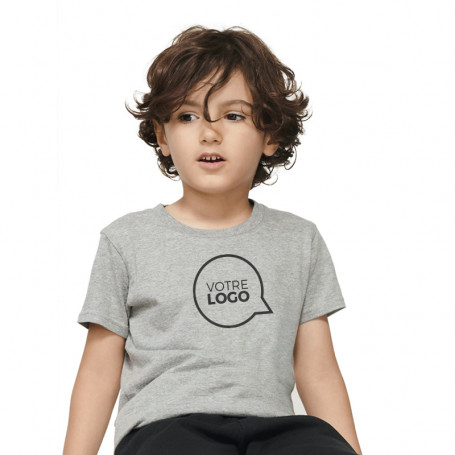 Tee-shirt coton bio Crusader Kids couleur