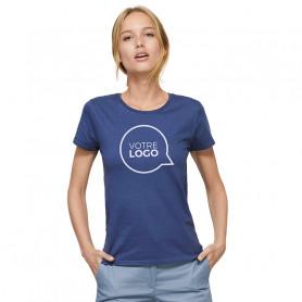 Tee-shirt coton bio Crusader Women couleur