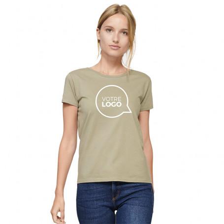 Tee-shirt coton bio Pioneer Women couleur