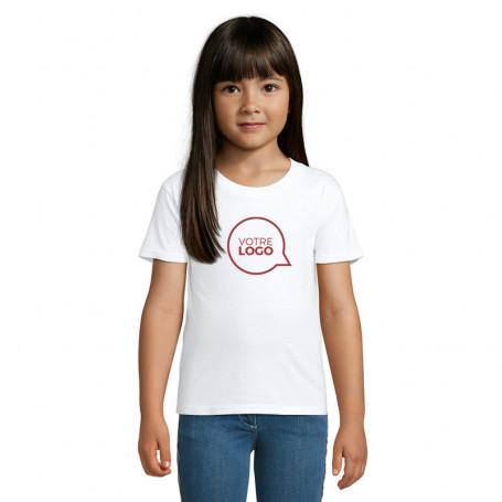 Tee-shirt coton bio Crusader Kids blanc