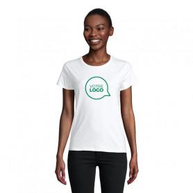Tee-shirt coton bio Pioneer Women blanc