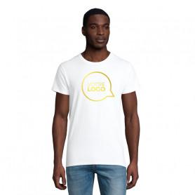 Tee-shirt coton bio Pioneer blanc