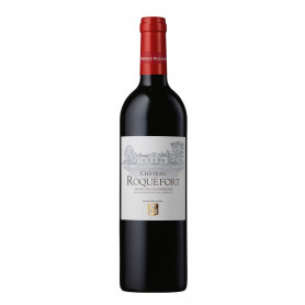 Vin rouge bio Château Roquefort 2018