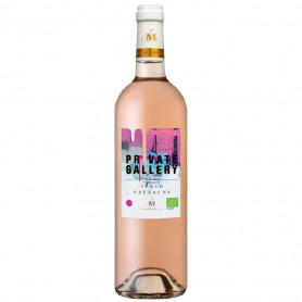 Vin rosé bio Private Gallery 2020