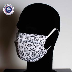 Masque lavable catégorie 1 avec marquage quadri EUROPE