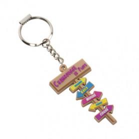 Porte-clés PVC souple 2D Liam