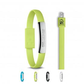 Bracelet en câble avec micro USB