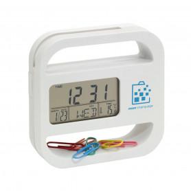 Horloge de bureau Helpdesk
