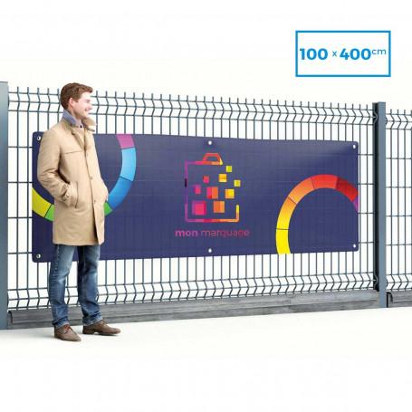 Banderole PVC 100x400 cm