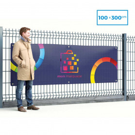 Banderole PVC 100x300 cm