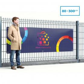 Banderole PVC 80x300 cm