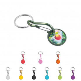 Porte-clés jeton Erza quadri