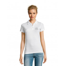 Polo manches courtes Perfect Women blanc