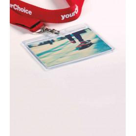 Porte-badge 10x8 cm