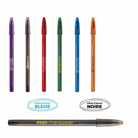 Stylo Bic Style Clear