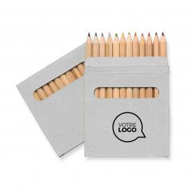 Etui coloriage Abigail 12 crayons